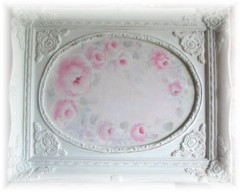 So Soft And Romantic Shabby Rose Painting